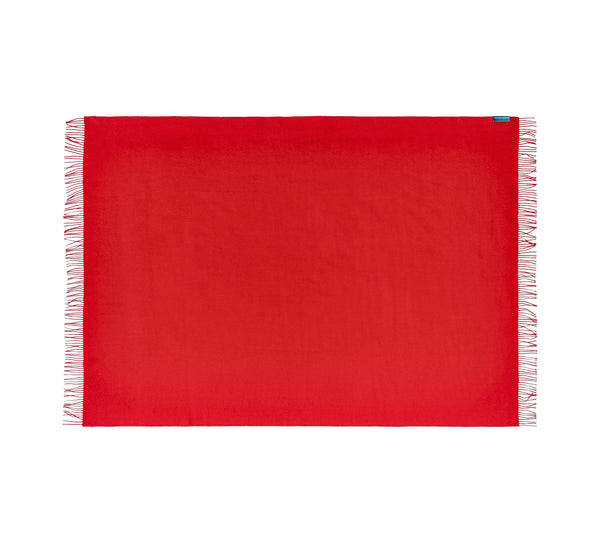 Silkeborg Uldspinderi ApS Lima 130x200 cm Throw Blood Red 1999
