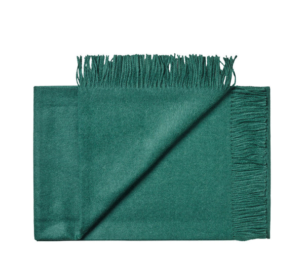 Silkeborg Uldspinderi ApS Lima 130x200 cm Throw Dark Green 1172