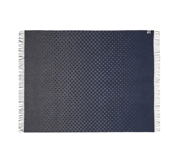 Silkeborg Uldspinderi ApS Madrid 130x190 cm Throw Dark Navy 1205
