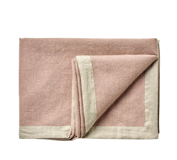 Silkeborg Uldspinderi ApS Mendoza 130x180 cm Throw 1927 Dusty Rose
