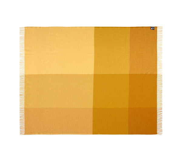 Silkeborg Uldspinderi ApS Miami 130x190 cm Throw 5308 Cornfields Yellow