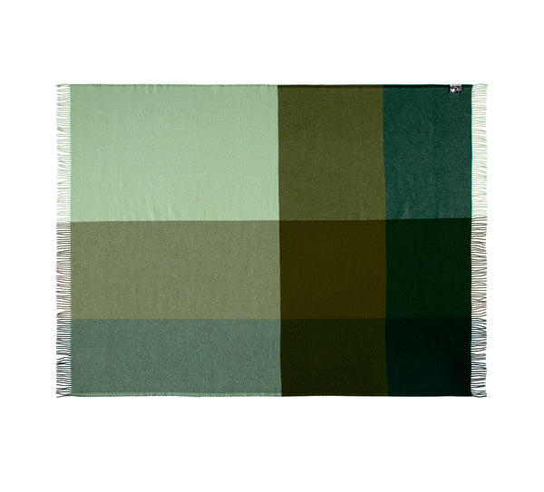 Silkeborg Uldspinderi ApS Miami 130x190 cm Throw 5309 Haze Green
