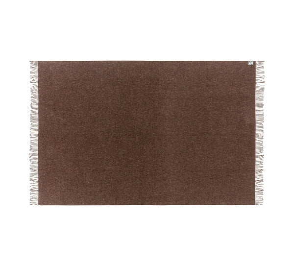 Silkeborg Uldspinderi ApS Oxford Plaid 140x240 cm Throw 0410 Dark Brown