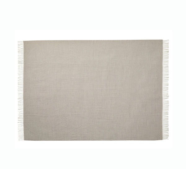 Silkeborg Uldspinderi ApS Panama Plaid 130x200 cm Throw 3232 Grey Bark