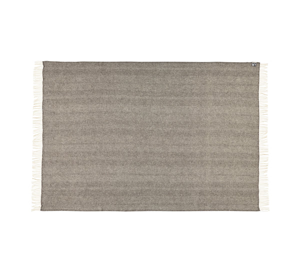 Silkeborg Uldspinderi ApS Rømø Plaid 140x240 cm Throw 0133 Dark Nordic Grey