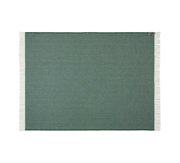 Silkeborg Uldspinderi ApS Sevilla Plaid 130x190 cm Throw 5295 Pine Green