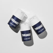 Load image into Gallery viewer, Daily Essentials - Men's Natural Cleanser, Face Scrub & Moisturiser