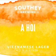 Load image into Gallery viewer, KEG! A Hoi - Vietnamese Lager - 4.0%