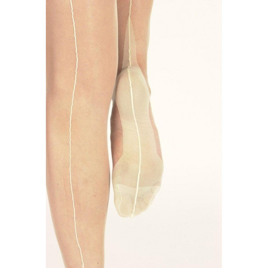 Pointed Heel Fully Fashioned Stocking