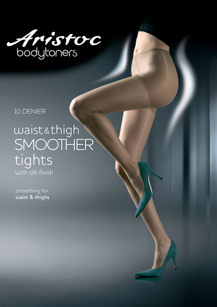Bodytoner Waist and Thigh Smoother Pantyhose