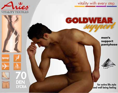 Goldwear Men's Support Pantyhose