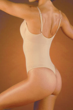Seamless Thong Body Suit w/Underwire