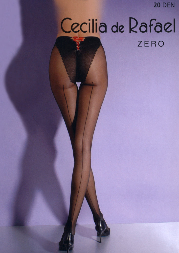 Zero Back Seam Pantyhose