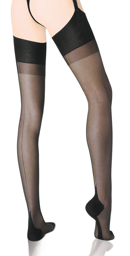 Seduction Courture Stocking-Lurex