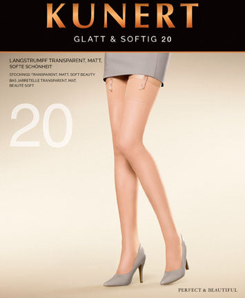 Glatt & Softig 20 Stockings
