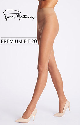 Premium Fit 20 Pantyhose