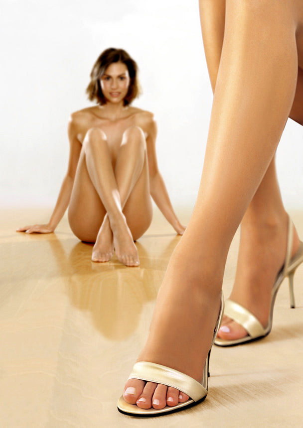 Perfectly Natural Toeless Pantyhose