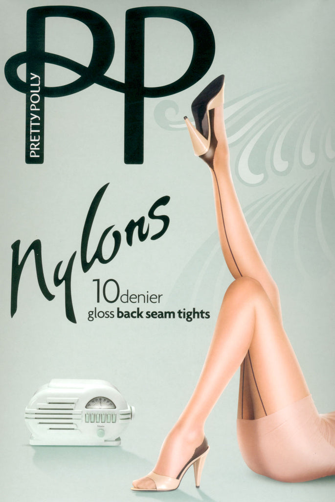 Nylons Back Seamed Pantyhose