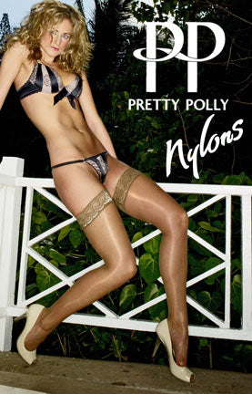 Nylons Lace Top Hold Ups