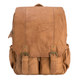 YAAGLE Men's Multi-pockets Crazy Horse Leather 17 inch Travel Backpack YG2010 - YAAGLE.com