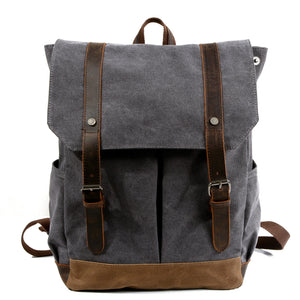 Vintage school bag men and women shoulder bag college KS6009 - YAAGLE.com
