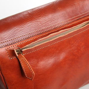YAAGLE Fashion Men's Real Tanned Leather Business Briefcase YGBR5061 - YAAGLE.com