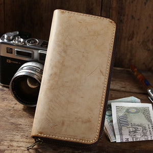 Hand-Tanned Leather Wallet YG003 - YAAGLE.com