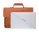 YAAGLE Men's Genuine Leather Business Briefcase Flap Handbag YG7205B - YAAGLE.com