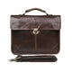 YAAGLE Fashion Real Leather Business Messenger Handbag YG7091 - YAAGLE.com