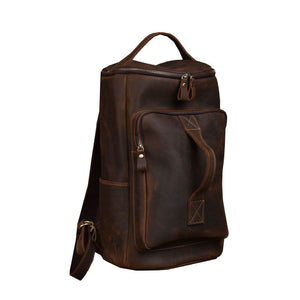 Leather Backpack Large Capacity Travel Bag YG1919 - YAAGLE.com