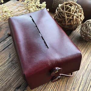 YAAGLE Leather Car-mounted Tissue Box YG1128 - YAAGLE.com