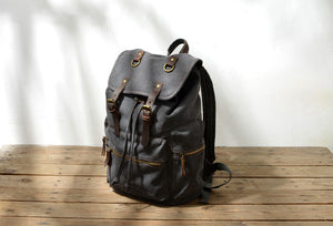 Vintage Backpacks Canvas Daypack #KS6001 - YAAGLE.com