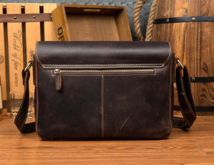YAAGLE Leather Messenger Bag YG4308 - YAAGLE.com