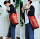 YAAGLE Unisex Personalized Real Leather Bucket Shoulder Bag YG8089 - YAAGLE.com