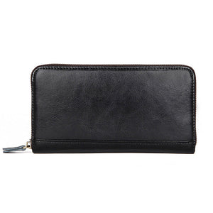 YAAGLE Unisex Real Leather Multi Card Slots Notecase Wallet YG8440 - YAAGLE.com