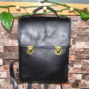 YAAGLE Women Fashion Tanned Leather Backpack YG43020 - YAAGLE.com