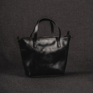 YAAGLE Women Vintage Tanned Leather Handbag Tote YGM8110 - YAAGLE.com