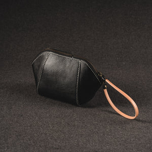 YAAGLE Women Brief Real Leather Shell Bag Clutch YG80380 - YAAGLE.com