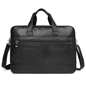 YAAGLE Men's Genuine Leather Business Travel Handbag YG7319A - YAAGLE.com