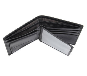 YAAGLE Male Crazy Horse Leather Wallet Card Slots YG8451 - YAAGLE.com