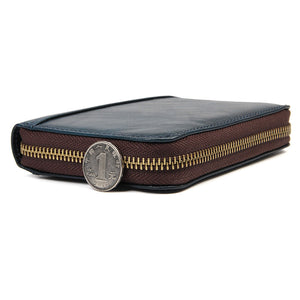 YAAGLE Unisex Real Leather Short Card Slots Notecase YG8439 - YAAGLE.com