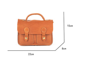 YAAGLE Female Portable Real Leather Flap Shoulder Handbag YG7116 - YAAGLE.com