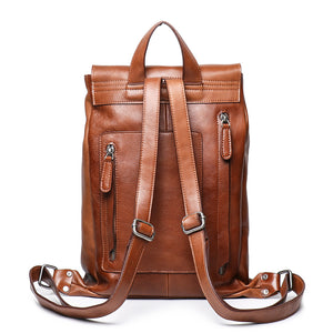 YAAGLE Unisex Large Capacity Flap Laptop Backpack YG9019 - YAAGLE.com