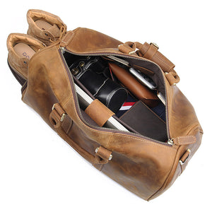 YAAGLE Men's Large Capacity Travel Bucket Handbag Tote YGX7077 - YAAGLE.com