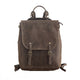 YAAGLE Men's Durable Crazy Horse Leather 15 inch Outdoor Travel Backpack YGPD1736 - YAAGLE.com