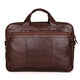 YAAGLE Men's Genuine Leather Business Travel Handbag YG7005Q - YAAGLE.com