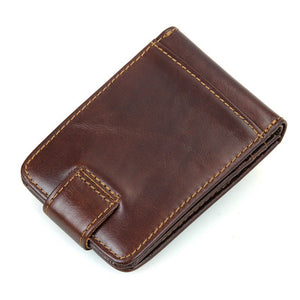 YAAGLE Unisex Mini Wallet RFID Blocking Card Holder YG8121 - YAAGLE.com
