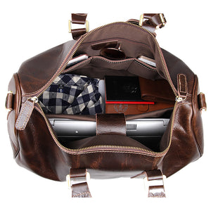 YAAGLE Men's Large Capacity Travel Bucket Handbag Tote YG7077C - YAAGLE.com