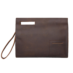 YAAGLE Men's Crazy Horse Leather Business Document Bag YGA0011 - YAAGLE.com