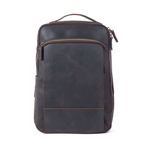YAAGLE Vintage Horse Leather Shoulder Bag Handmade Backpack YG20805